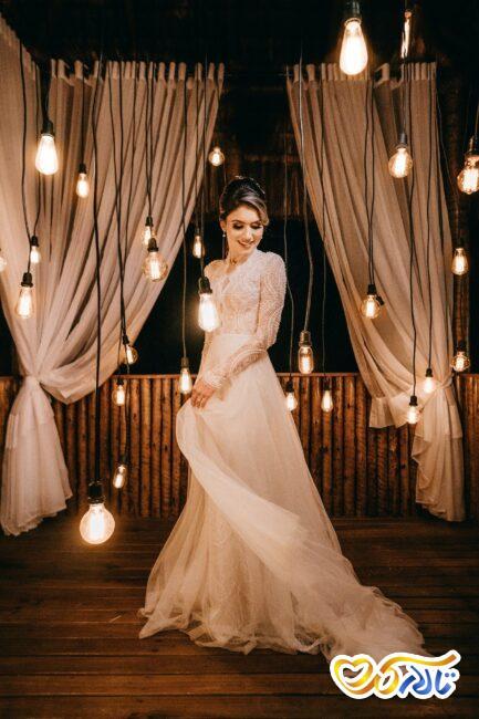 لباس عروس و لباس زیبای بله برون