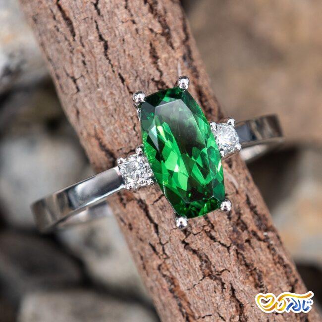 انگشتر نشان جواهر