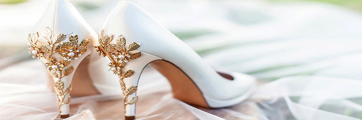 انتخاب کفش عروس, کفش عروس طلایی