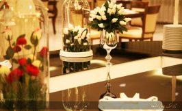 میز شام تالار عروسی برازنده