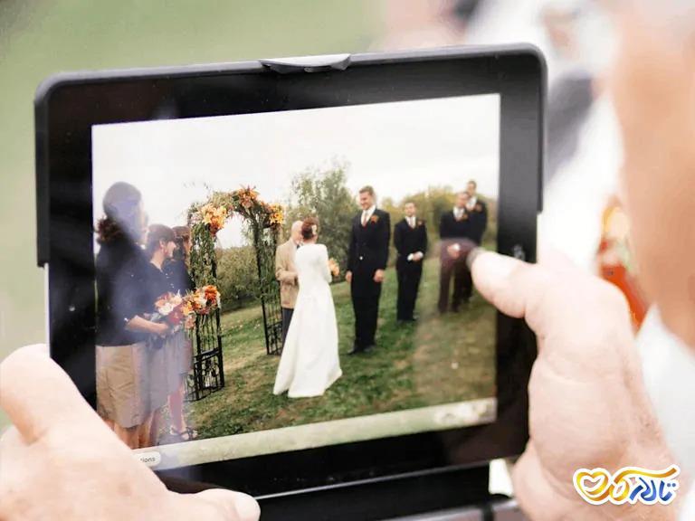 جشن عروسی مجازی