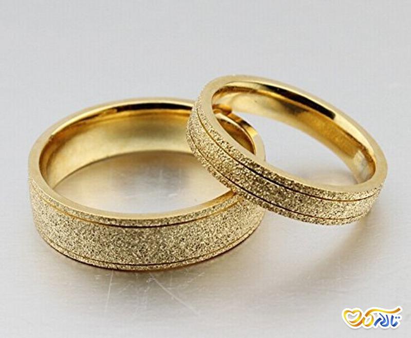حلقه نامزدی, حلقه عروسی, حلقه ست عروس و داماد