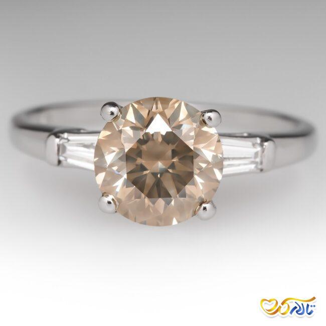 حلقه عروسی الماس