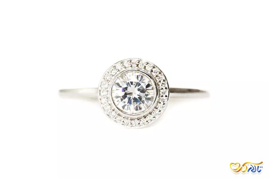 حلقه ی ازدواج جواهر