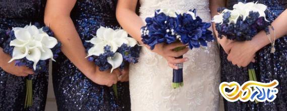 دسته گل ساقدوش عروس