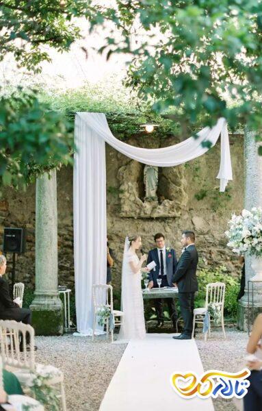 دیزاین تالار پذیرایی و باغ تالار عروسی