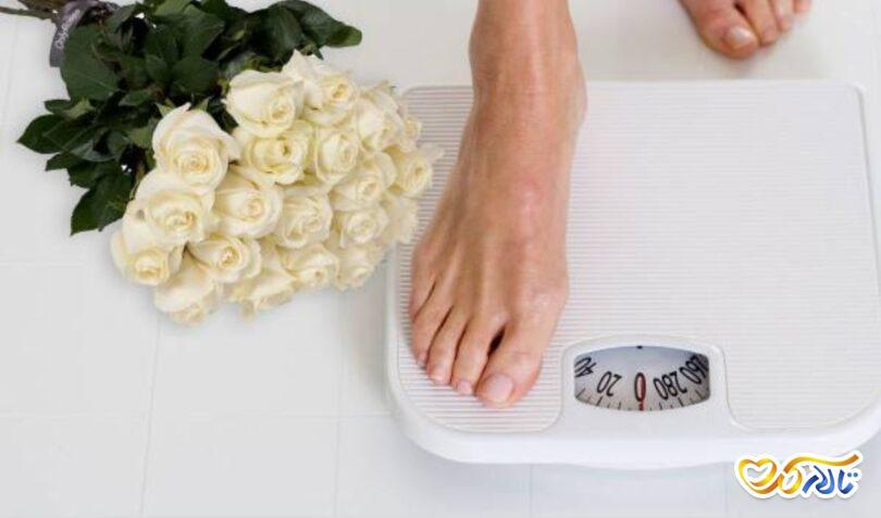 رژیم قبل عروسی کاهش وزن