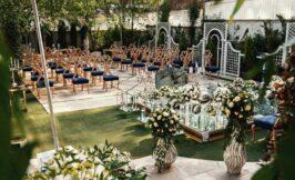 جایگاه عروس و داماد و سالن عقد ایرانی