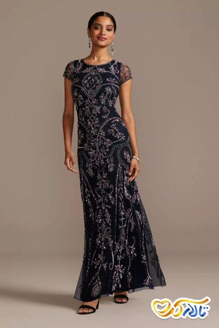 لباس شب برای مادر عروس