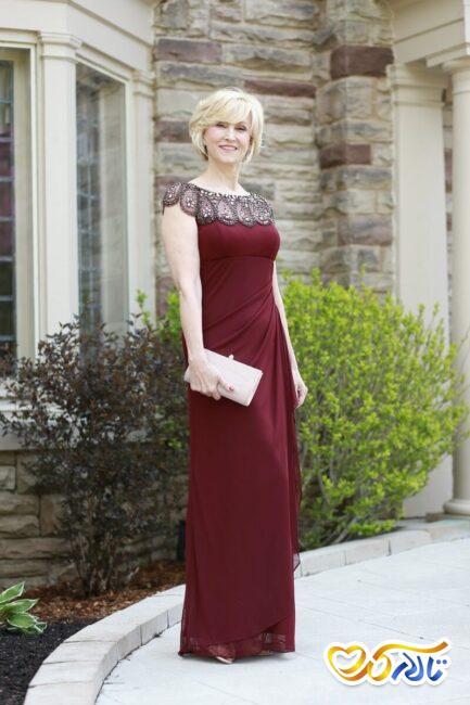 لباس مجلسی مناسب مادر عروس