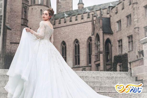 مدل های لباس عروس پرنسسی