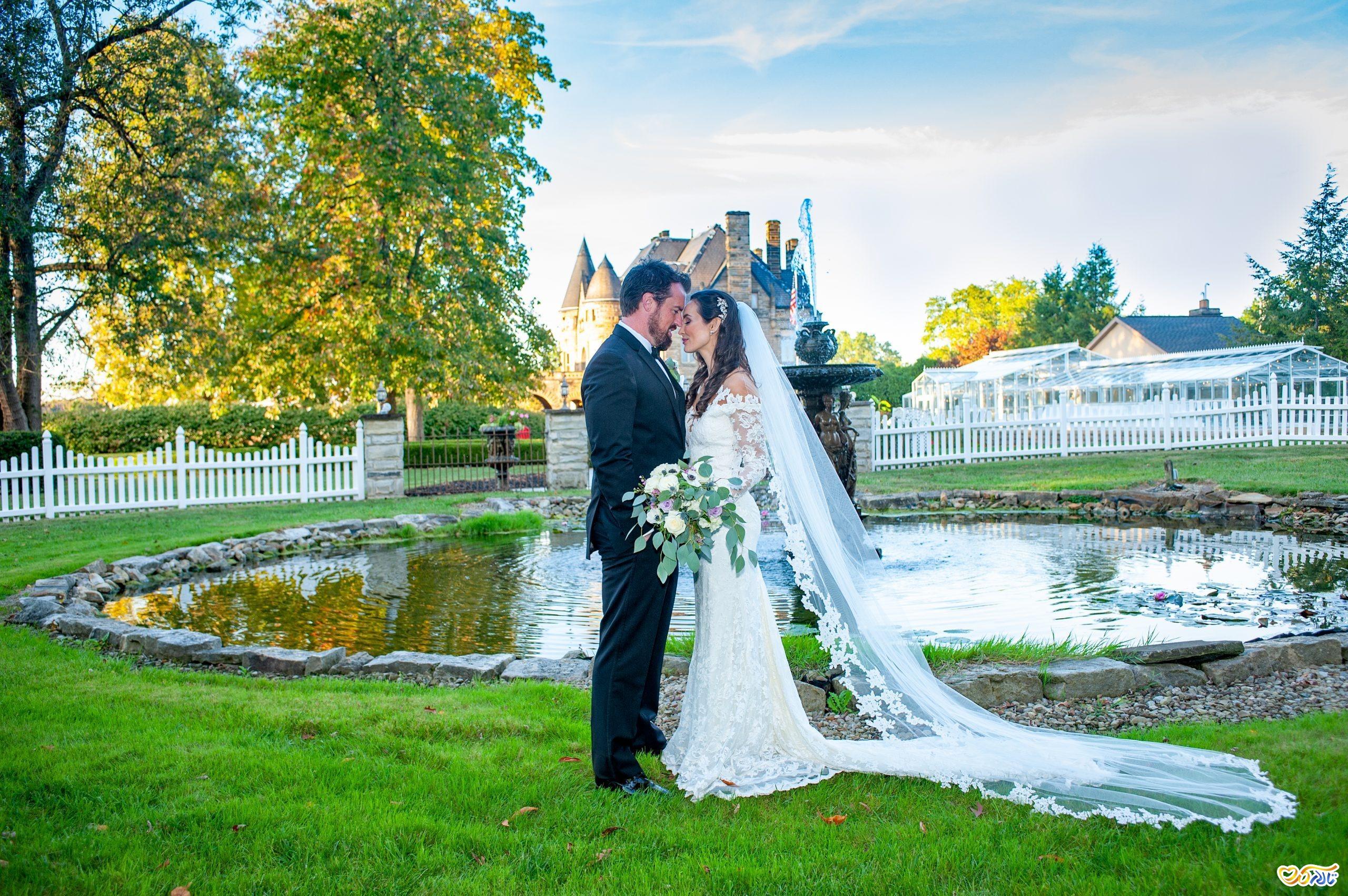 مراسم عروسی شیک و مدرن