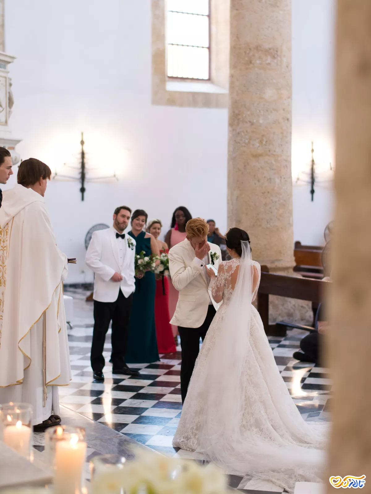 مراسم عروسی مسیحی