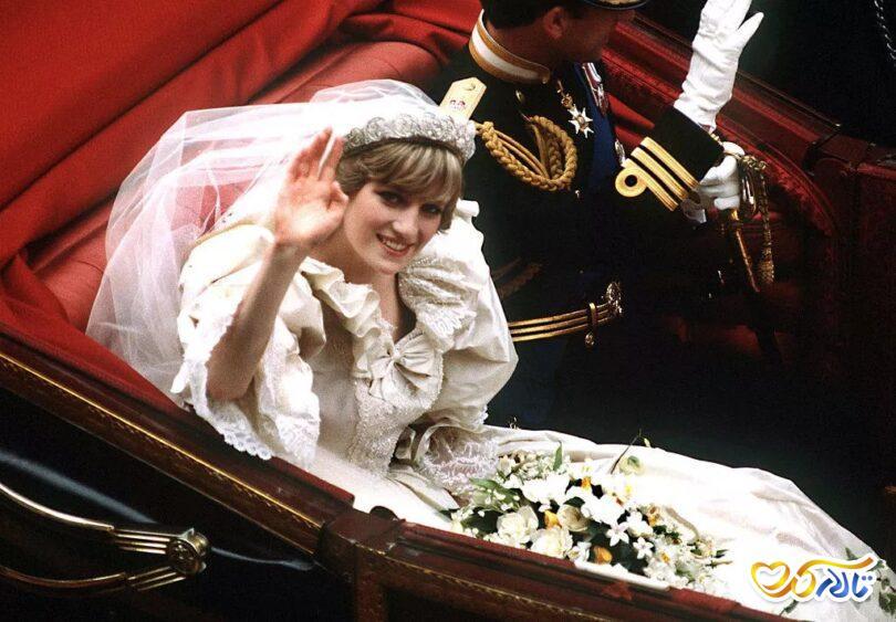 مراسم عروسی پرنسس دایانا