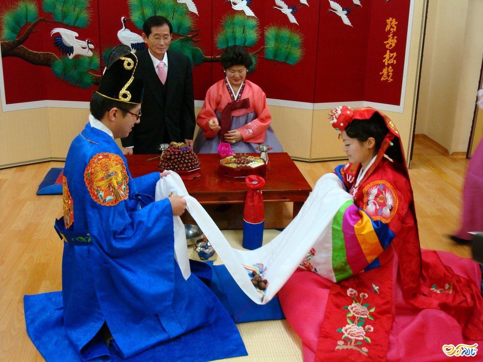 مراسم عروسی کره ای