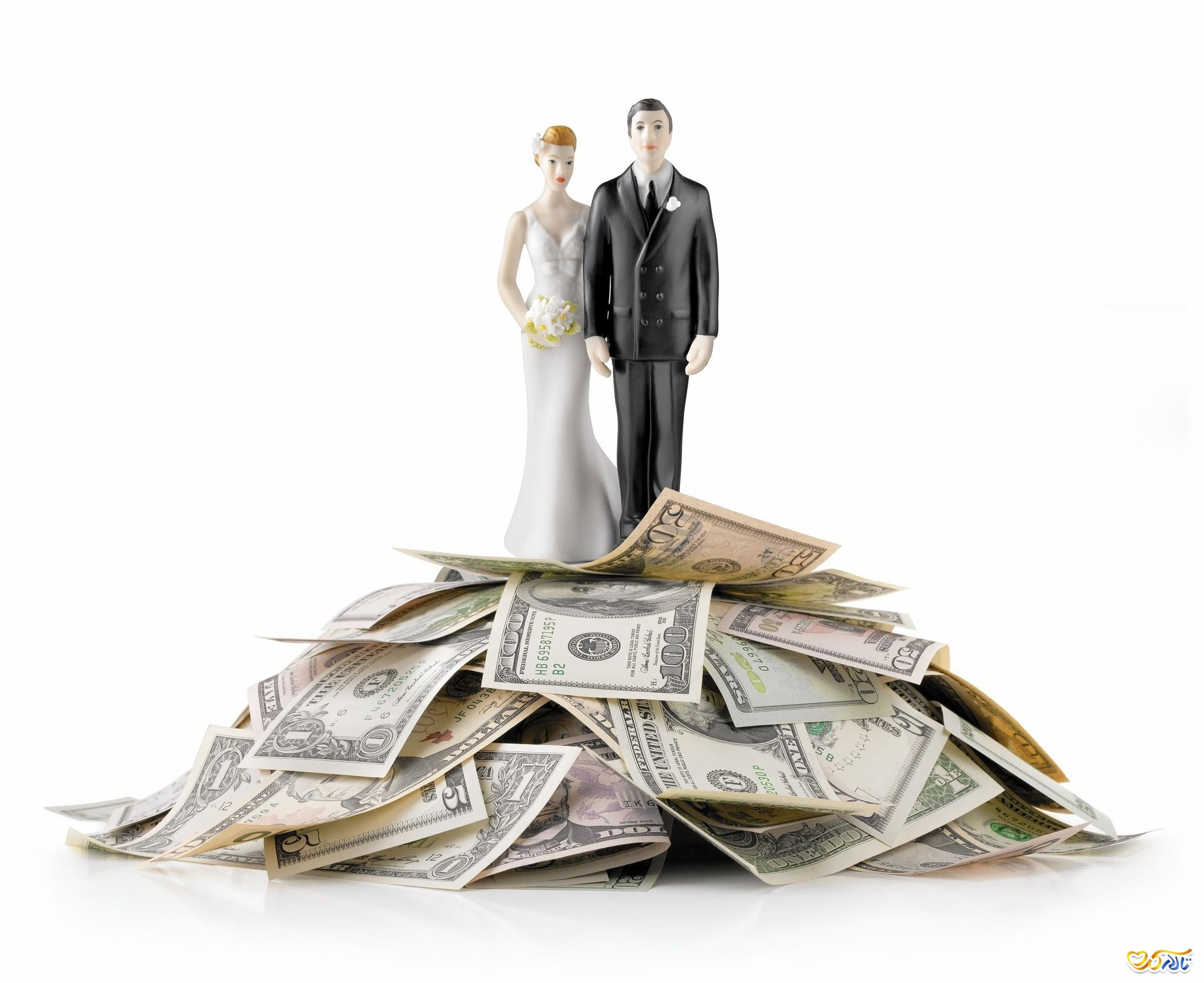 هزینه عروسی