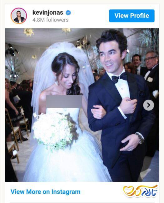 عروسی بازیگران تلوزیون و کانال دیزنی