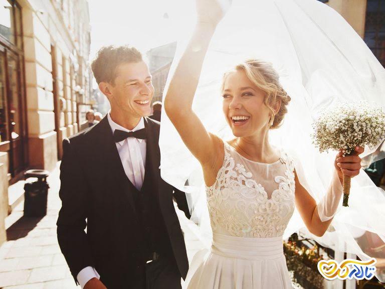 پیشگیری از عرق زیاد در مراسم عروسی