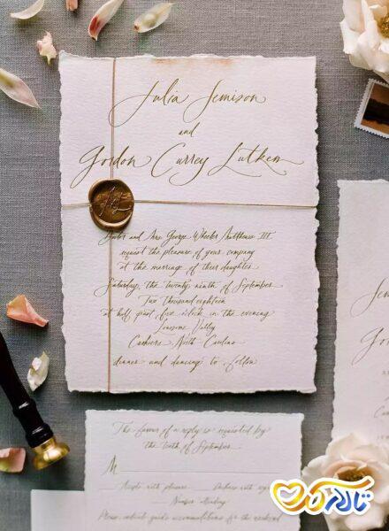 کارت دعوت عروسی