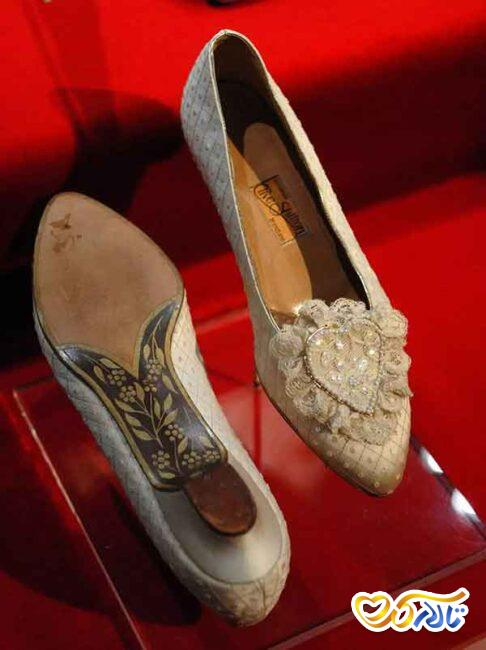 کفش عروس پرنسس دیانا