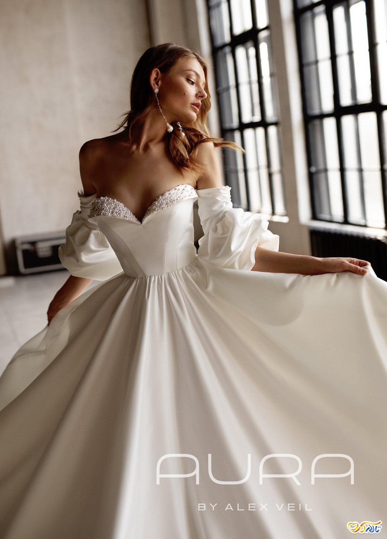 لباس عروس جدید سال 2021