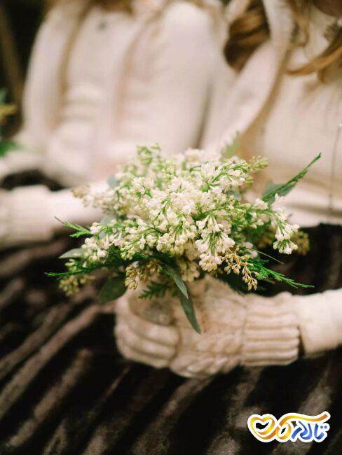 مفهوم گل های روز عروسی
