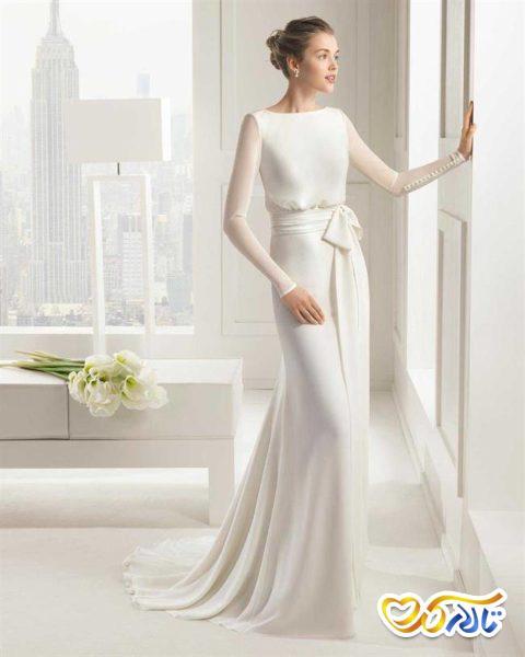 پارچه لباس عروس شیفون