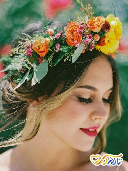 تاج عروس گل,تاج گل عروس