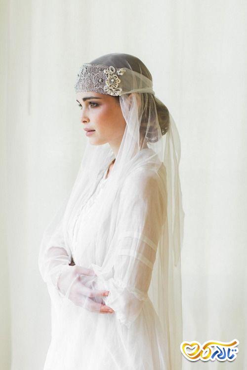 لباس عروس تور دار
