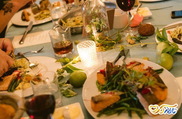 انتخاب منوی غذای عروسی : پذیرایی خانوادگی