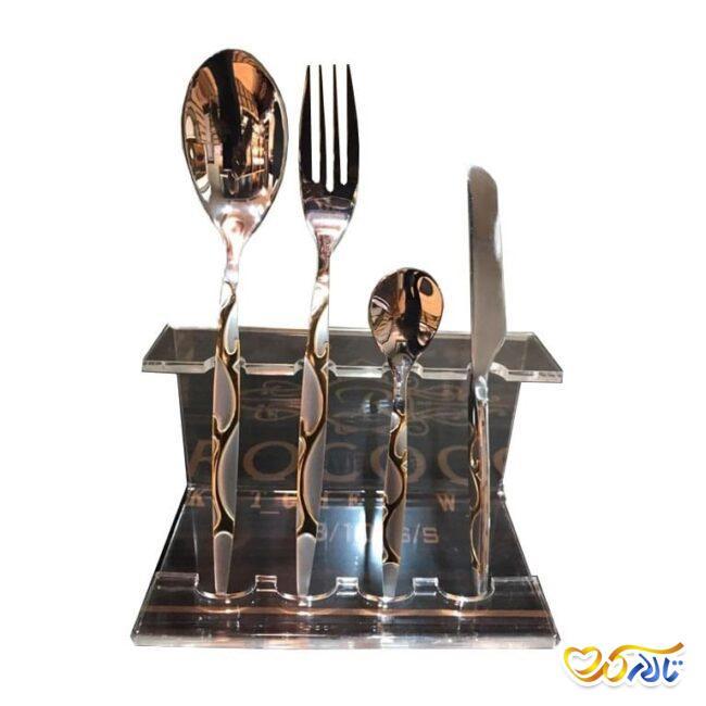 ظروف و سرویس قاشق و چنگال