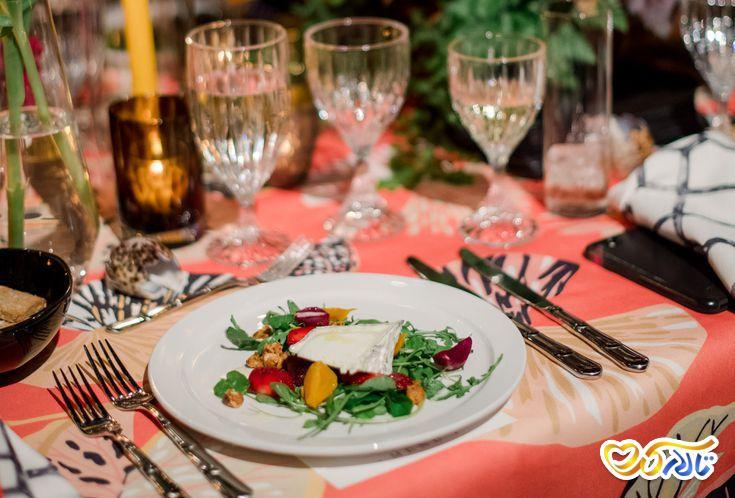 انتخاب منوی غذای عروسی : پذیرایی رسمی