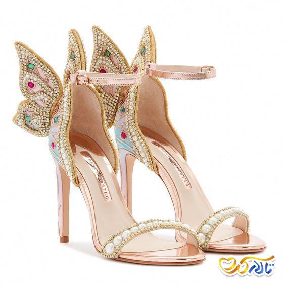 کفش عروس منحصر به فرد
