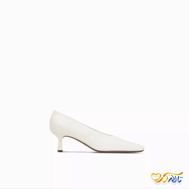 کفش عروس ساده و مینیمال