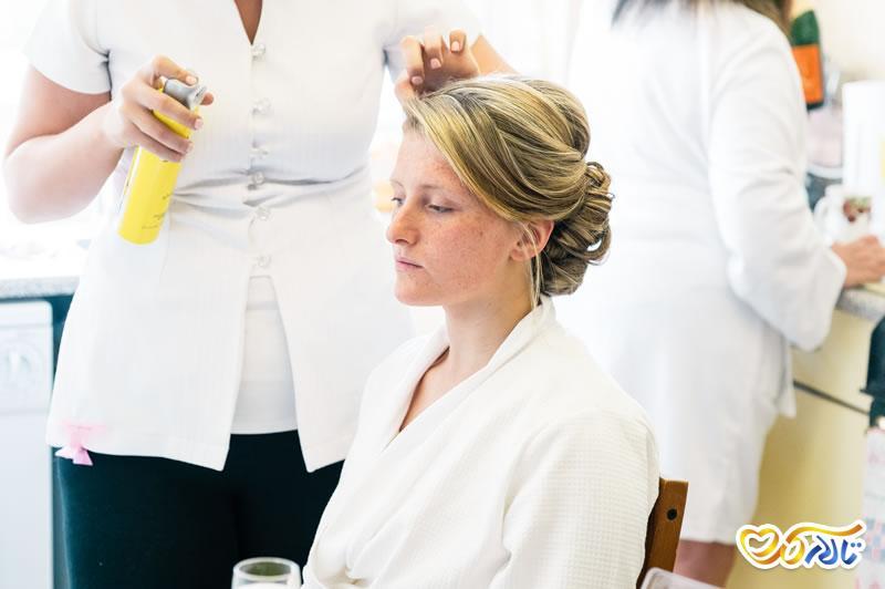 نگهداری از موها قبل از عروسی