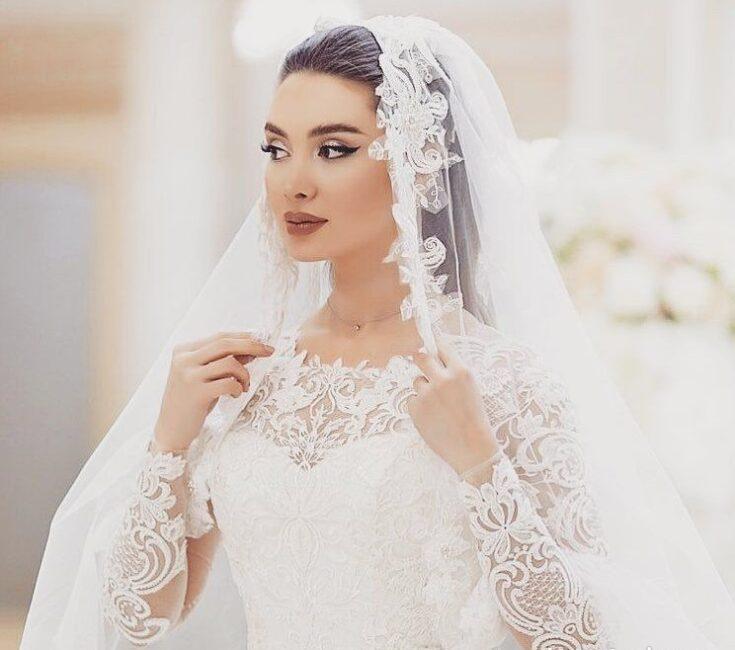 تور لباس عروس برای جشن عروسی