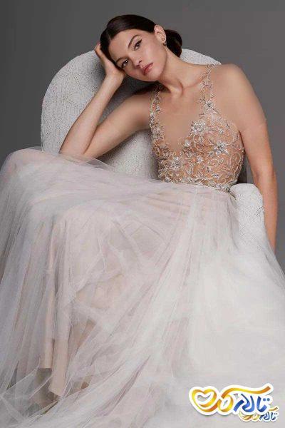 لباس نامزدی صورتی