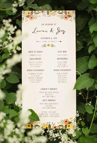 سین برنامه عروسی