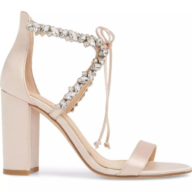 کفش پاشنه بلند عروس با قیمت مناسب