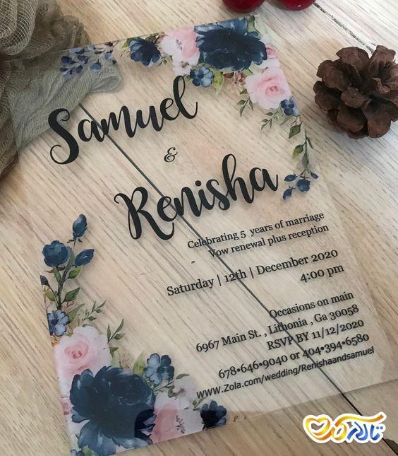 متن دعوت از مهمان ها در کارت های عروسی