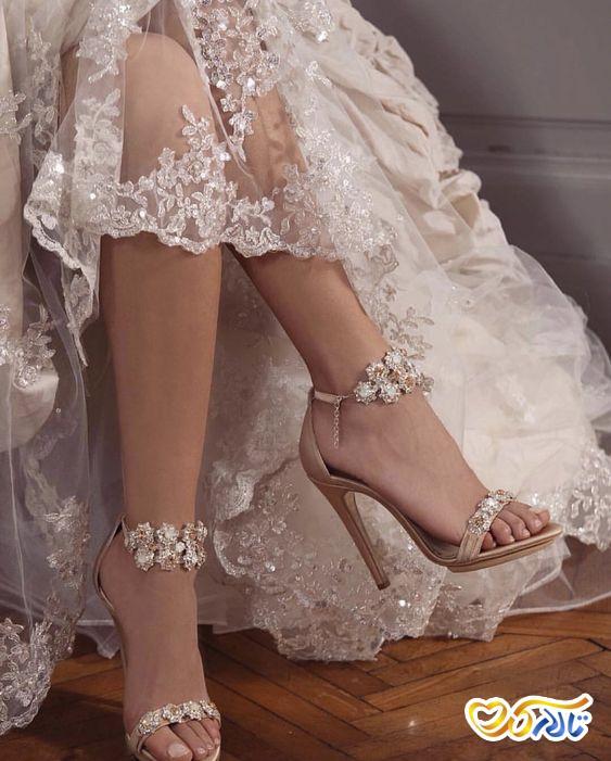 کفش عروس شیک