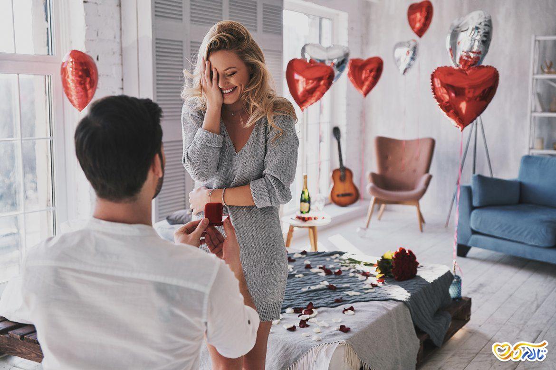 بروز احساسات در زوجین