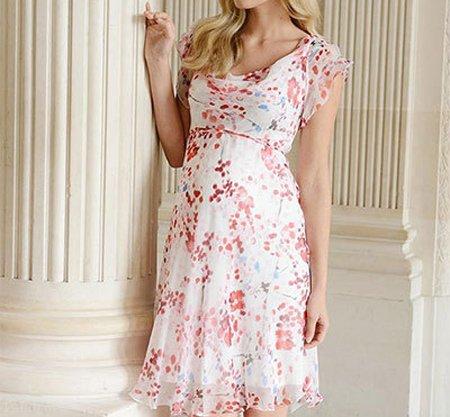لباس بارداری گل گلی