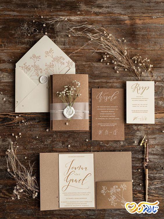 پشت نویسی کردن کارت عروسی