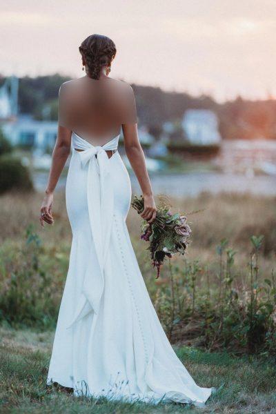 پارچه لباس عروس