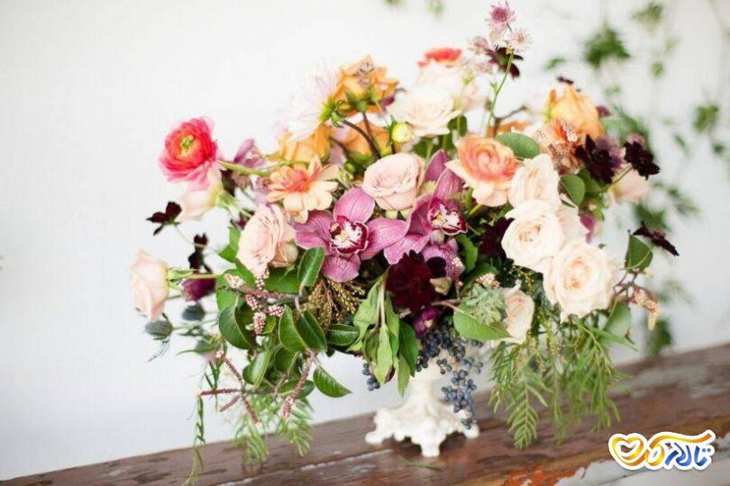 زیباترین پالت رنگ ها برای عروسی بهاری