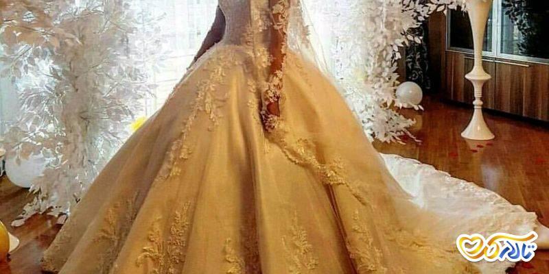 پارچه لباس عروس گیپور و دانتل