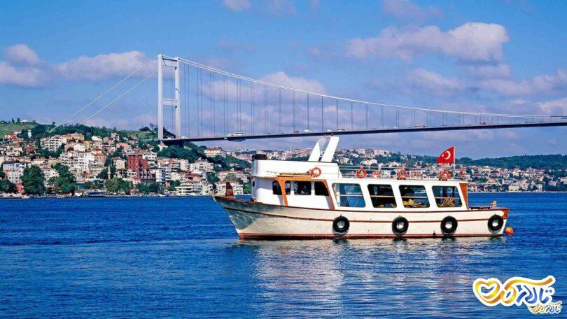 عروسی در ترکیه روی کشتی