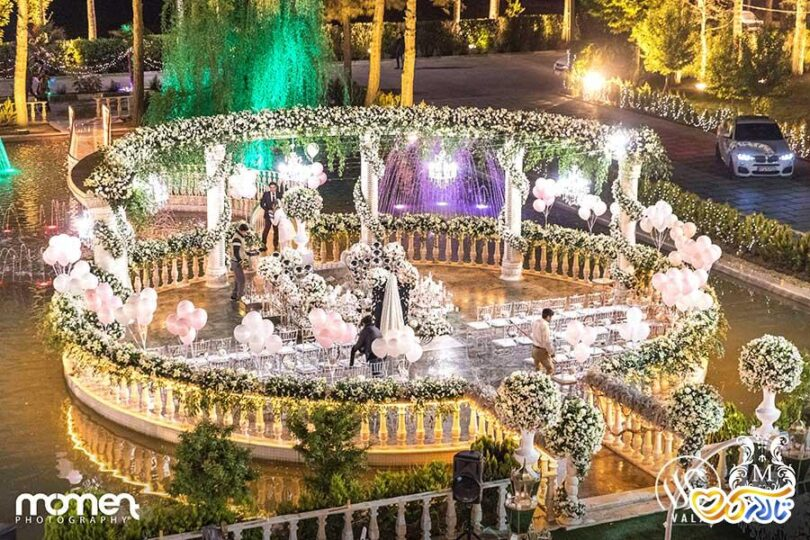 باغ عمارت عروسی والا در شهریار
