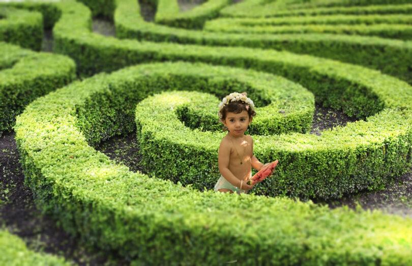 عکاسی کودک باغ عکاسی کودک